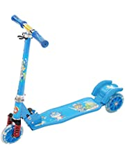 Scooter with Three Wheels for Kids - Blue