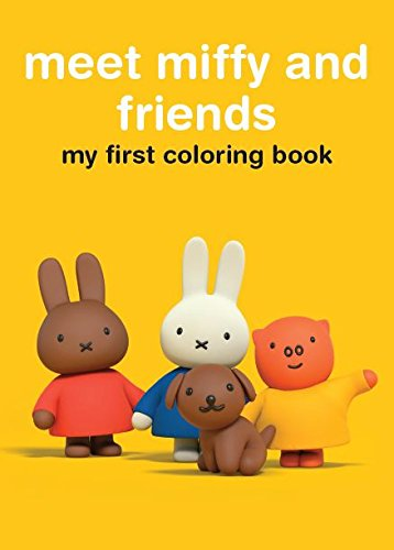 Miffy Coloring & Activity Book-Meet Miffy and Friends – KAPPA BOOKS