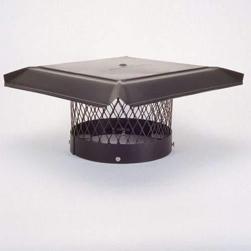 (Chimney 14850 HomeSaver Pro Chimney Cap For Round Clay Flue Tiles - 10)
