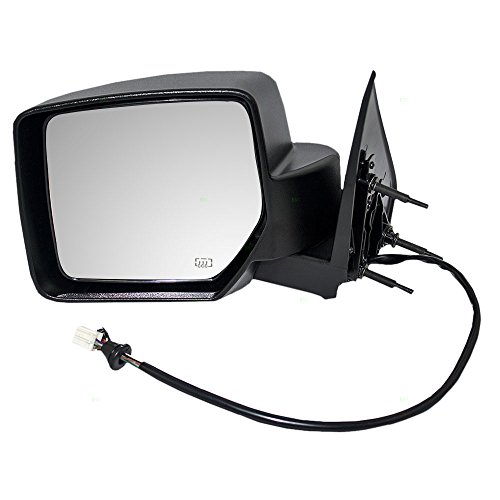 2011 06 Jeep Liberty Mirror - Drivers Power Side View Mirror Heated Memory Textured Replacement for 08-12 Jeep Liberty 57010187AF AutoAndArt