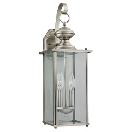 Outdoor Lighting Antique Brass Finish - 8
