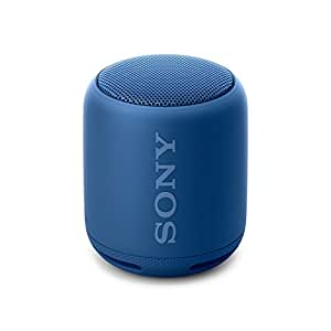 Sony SRS-XB10L- Altavoz inalámbrico portátil (Bluetooth, Extra Bass, NFC, 16h de batería) Color Azul