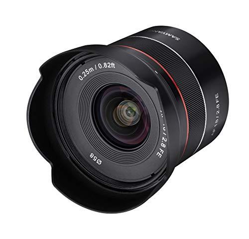 اتومبیل Samyang AF 18mm F2.8 Wide Angle Wide Focus لنزهای فریم کامل برای Sony E Mount