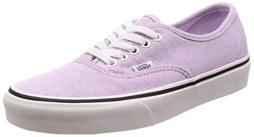 Vans Authentic (Jersey) Mens Skateboarding-Shoes VN-0A38EMU5F_6.5 - Lavender Fog/Snow