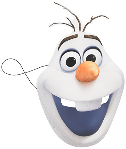 Disney Frozen Olaf Character Face Mask - Official Merchandise