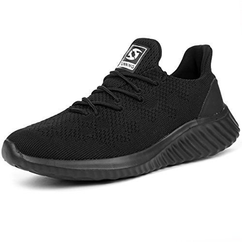 JIASUQI Mens Classic Breathable Casual Sports Sneakers Athletic Running Shoes