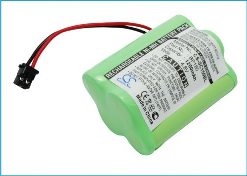 Cameron-Sino Replacement Battery for Trunk Trackers Barcode Scanner BC250D, BC296D (Bc250d Scanner)