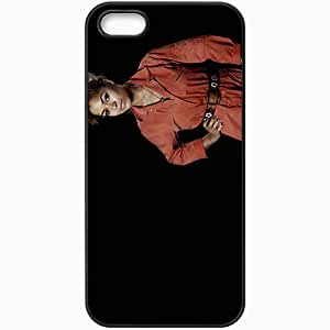Personalized iPhone 5 5S Cell phone Case/Cover Skin Antonia thomas misfits alisha bailey actress TV Series Black