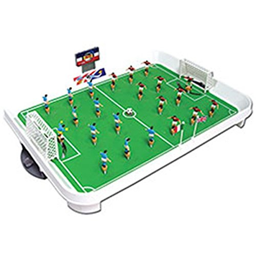 Team Power 26296 - World Premier Football Table Spring Football, Tischfussballspiel, 50x35cm