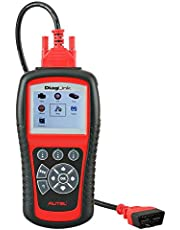 Autel Diaglink All Systems Diagnostic Tool OBD2 Car Code Reader for Engine, Gearbox, ABS, Airbag, SRS and More, with EPB Oil Service Light Reset