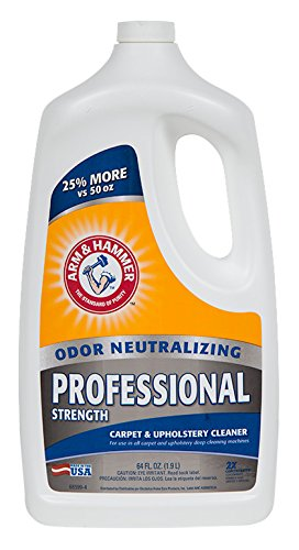 Arm & Hammer Carpet Cleaner Professional Extractor Chemical, 64 oz by Arm & Hammer (Image #1)