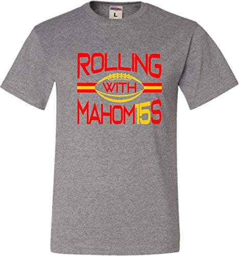 X-Large Oxford Adult Rolling Mahomes T-Shirt