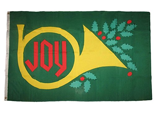 Joy To The World Holiday Flag 3' X 5' Indoor Outdoor Christm
