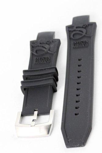 Invicta Subaqua Noma III 28 mm Black Polyurethane Strap Band (Fits most Subaqua Models) (Invicta Subaqua Women Watches)