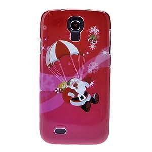 Bkjhkjy Landing Santa Claus Back Case for Samsung Galaxy S4 I9500
