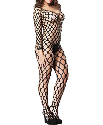 - LemonGirl Fishnet Bodystockings Lingerie for Women Open Crotchless Bodysuit Stockings Free Size