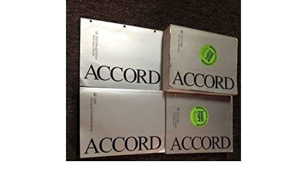 2006 honda accord service manual