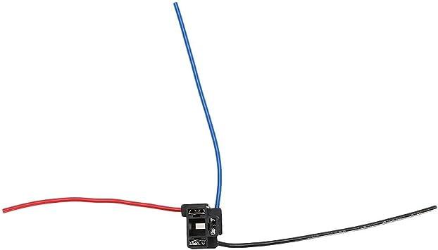 Kabelstecker Für Scheinwerfer H4 3 Polig Scheinwerfereparaturlampe Kabelbaumstecker Stecker Drahtbuchse Auto