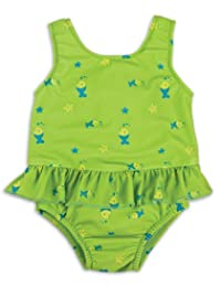 Bambino Mio Nappy Swimsuits, Lime Fish, 21-27 Lbs