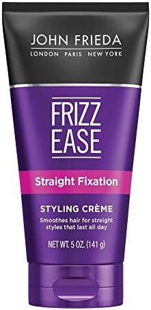 John Frieda Frizz Ease Straight Fixation Styling Creme, 5 Ounces