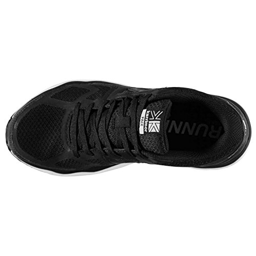 Karrimor Womens Pace Trainers Shoes Lace Up Mesh Breathable Padded Ankle Collar Black/White1 4G5wfj