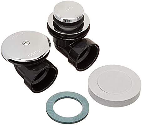 Chrome Plated Standard Plumbing Supply Watco 601-FA-ABS-CP Foot Actuated Half Kit