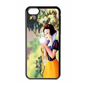 FOR Iphone 5c -(DXJ PHONE CASE)-Snow White Holding Apple-PATTERN 11