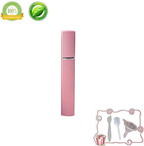 Atomizador de Perfume,Morbuy Mini Portátil Vacía Pulverizador Frascos Dosificador Recargable de Perfume de Afeitado con Bomba de Embudo y Pipeta para Viaje en Bolso 12ml (12ml, Oro rosa): Amazon.es: Belleza