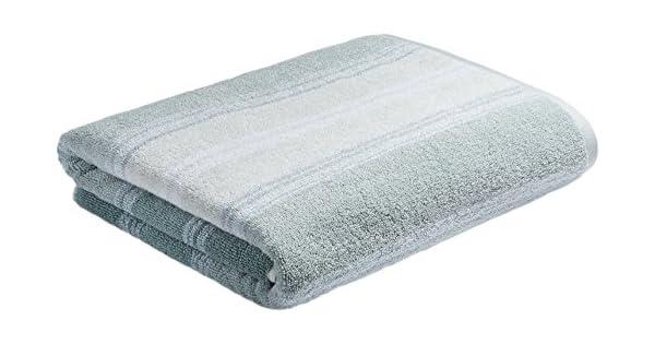 Pequeña toalla trozos de metal gris rosa