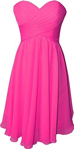 hot pink dress shorts - 3
