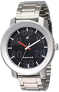 Fastrack Casual Analog Black Dial Men's Watch NM3121SM02/NN3121SM02