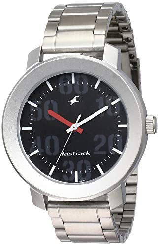 Fastrack Casual Analog Black Dial Men's Watch NM3121SM02/NN3121SM02