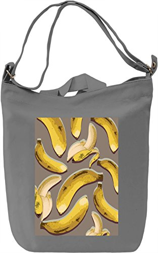 Pop Art Bananas Borsa Giornaliera Canvas Canvas Day Bag| 100% Premium Cotton Canvas| DTG Printing|