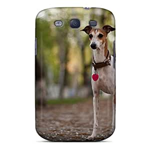 BrnLRoon Fashion Protective A Dog On A Walk Case Cover For Galaxy S3