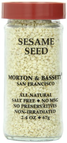 Morton & Basset Spices, Sesame Seed, 2.4 Ounce (Pack of 3) by Morton & Bassett