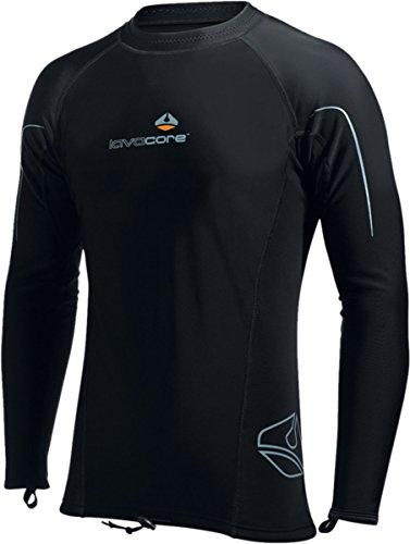 LavaCore Men's Long Sleeved Shirt (2X-Large) by LavaCore Wetsuits