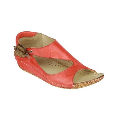 Riva Cartier Damen Leder Sandale Denim