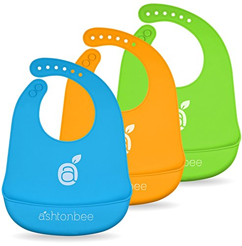 Silicone Baby Feeding Catcher Pocket