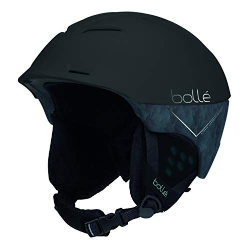Bolle Synergy - Casco de esquí, Color Negro Mate, 58-61 cm