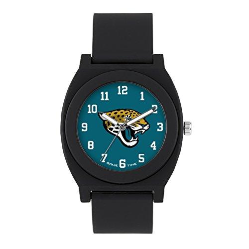 NFL Jacksonville Jaguars Mens Fan Series Wrist Watch, Black, One Size ()