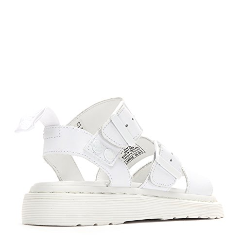 Dr. Martens Gryphon Fashion Sandal 16821100 White SZ UK 8 bd7dUmdZ