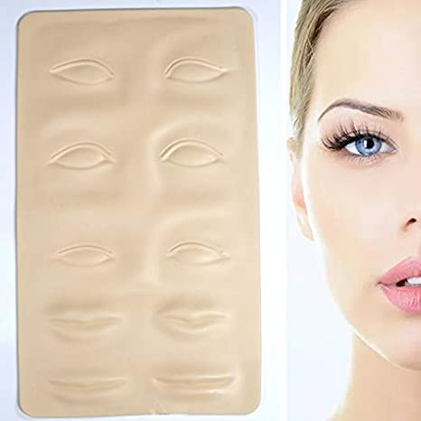 5 piezas tatuaje simulación piel cejas faciales ojo labio tatuaje ...