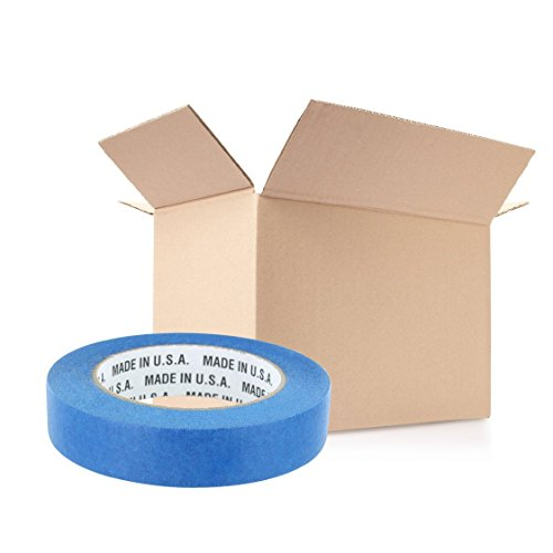 Rugged Blue M 187 Blue Painters' Masking Tape 1 in x 60 yd - 36 Pack