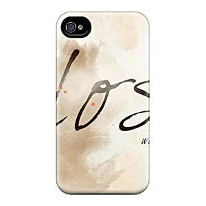 Anti-scratch And Shatterproof Lost Without You Phone Case For Iphone 4/4s/ High Quality Tpu Case by icecream design