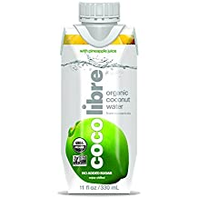 CoCo Libre Organic Coconut Water, Pineapple, 11 Ounce (Pack of 12)