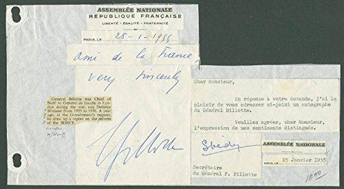 pierre-billotte-autograph-letter-signed-01-25-1955