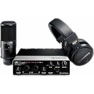 Steinberg UR22 MKII RP Recording Pack with UR...