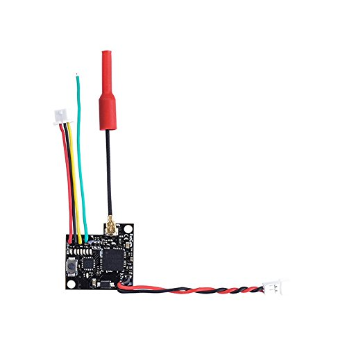 Crazepony Runcam TX200U FPV Transmitter 1S 3.5-5.5v 5.8G 48CH 25/200mW Video Transmitter for Nano/Micro Sparrow/Micro Swift 2/Micro Eagle by Crazepony