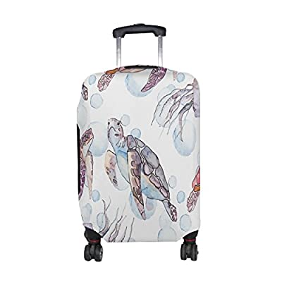 Luggage Protective Covers Washable Travel Luggage Cover Suitcase 18-32 Inch