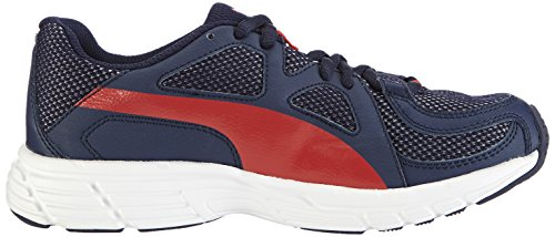 Peacoat Puma V3 Red Adulto Blau Sneaker Blu high Axis 07 Mesh Basse Unisex Risk zz6r1